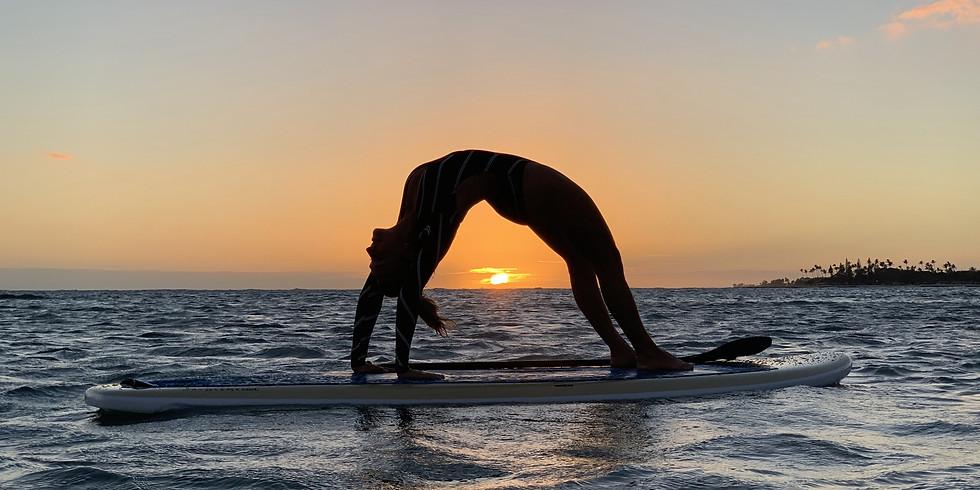Dog Beach Sunset SUP Yoga