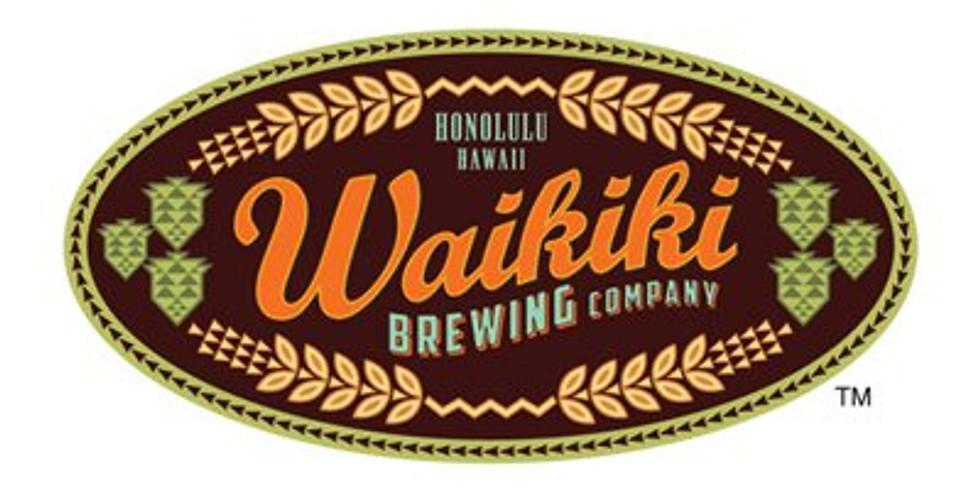 Yoga on Tap - Waikiki Brewing Co., 3/7