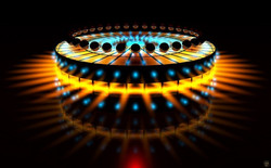 Abstract Led Lights