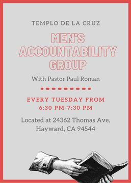 Men's Accountability Group