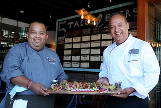 Chef Cesar and Chef Lito