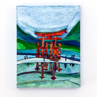 Floating Tori Gate