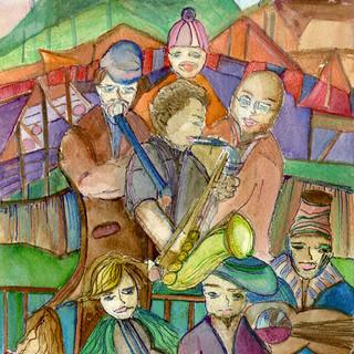 Richmond Folk Festival-SOLD