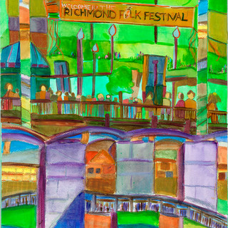 Welcome to the Folk Festival-SOLD