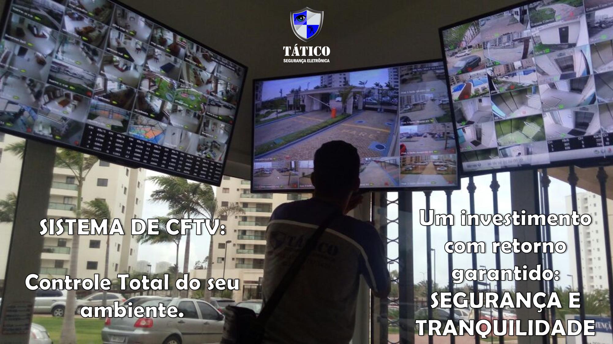 CFTV câmeras Tático Segurança