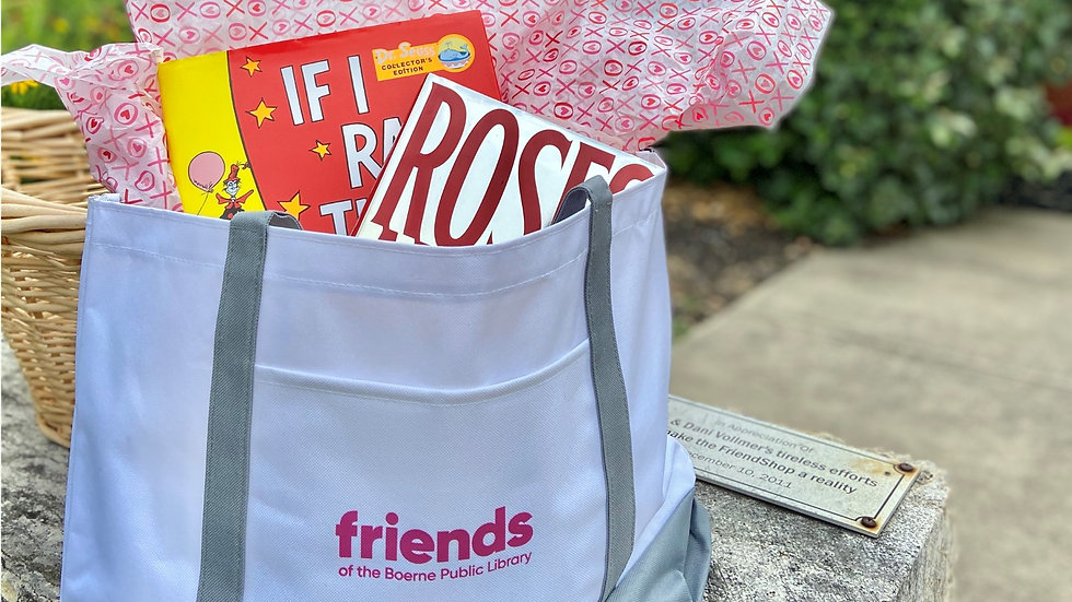 Friends of the Boerne Public Library Book Bag