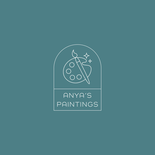 Anya's Paintings Branding