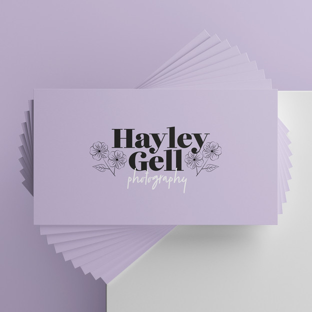 Hayley Gell Photography Branding