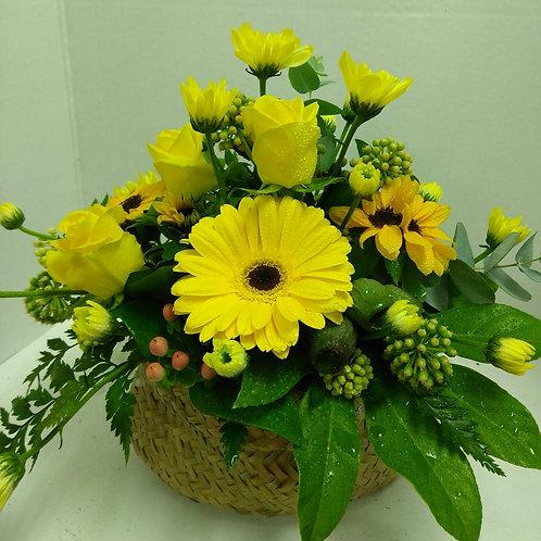 Floral Kete Bag.