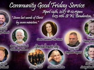 """Good Friday """"Cross Walks"""" - Friday, April 14th @ 11:00am"""