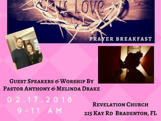 Love Is... {Prayer Breakfast} Feb 17th