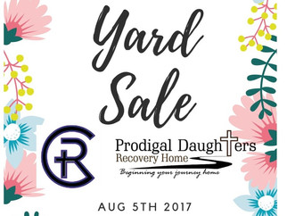 Yard Sale 8/5/17 8am to 3pm