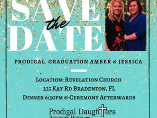 Graduation! Jan 6th for Amber & Jessica