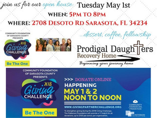 """Giving Partner """"Be The One"""" Challenge & PD Open House"""