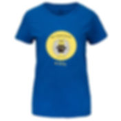 Blue Women's T-Shirt Circled Logo.jpg