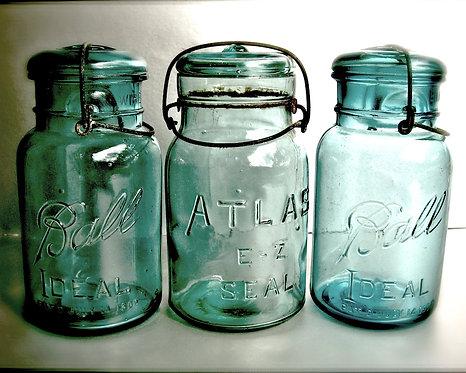 Kitchen & Bath Wall Decor • Aqua Nostalgia