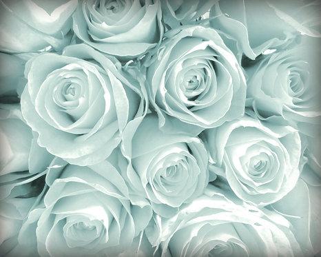 Flower Wall Decor • Aqua Dream