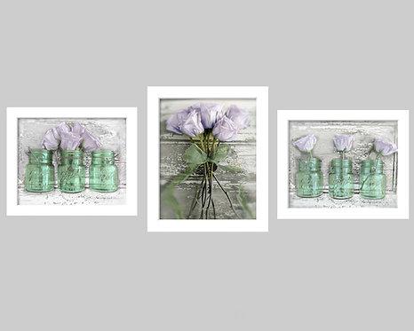 Lavender Rose Trio Gallery
