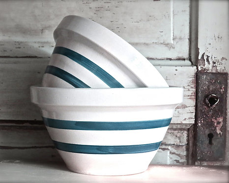 Kitchen & Bath Wall Decor • Old Mixing Bowls