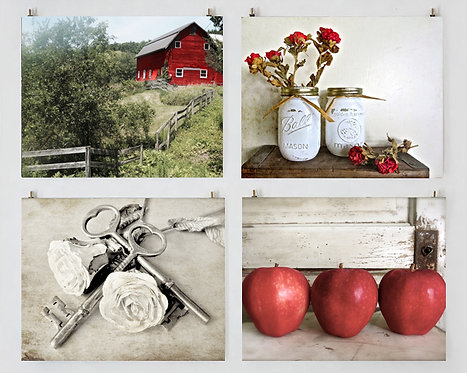 Red Barn Wall Gallery