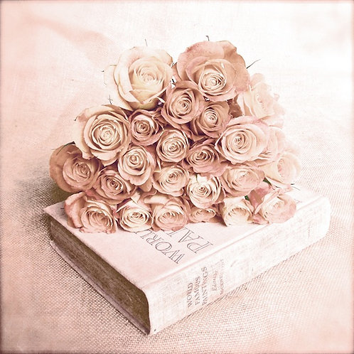 Flower Wall Decor • Blushed