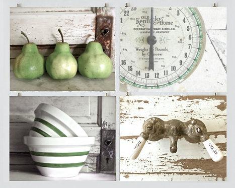 Green Farmhouse Kitchen Gallery