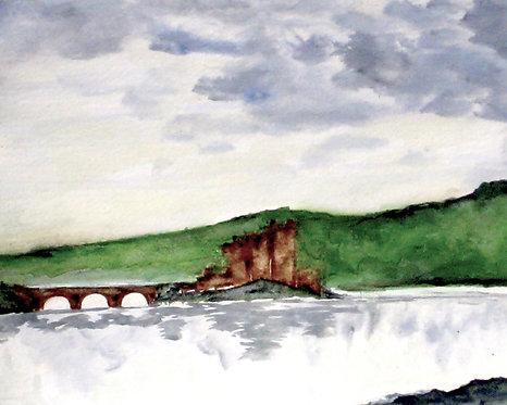 Castle Bridge Giclee Print