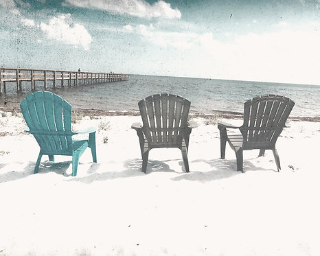 Beach & Coastal • Three Chairs