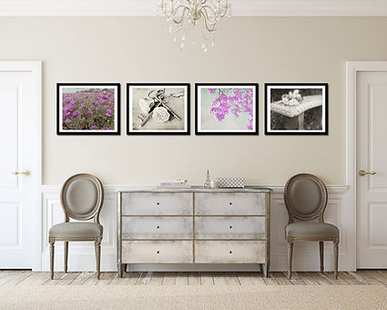 Purple Passion nature and landscape wall gallery