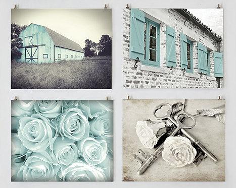 Aqua Farmhouse Gallery