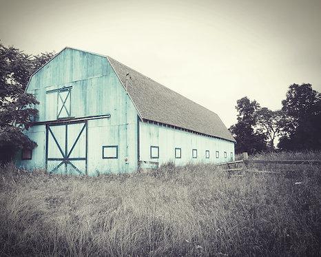 Farmhouse Wall Decor • Aqua Barn