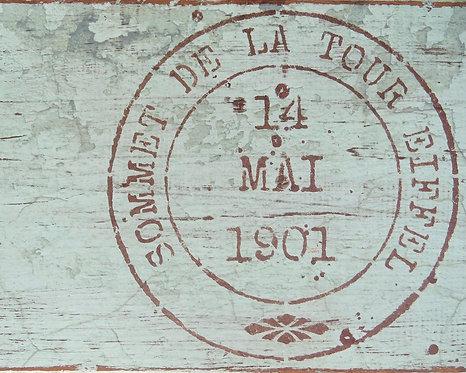 Farmhouse Wall Decor • Eiffel Tour