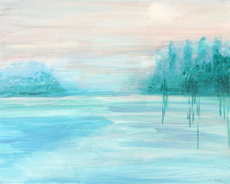 Blue Haze Giclee Print