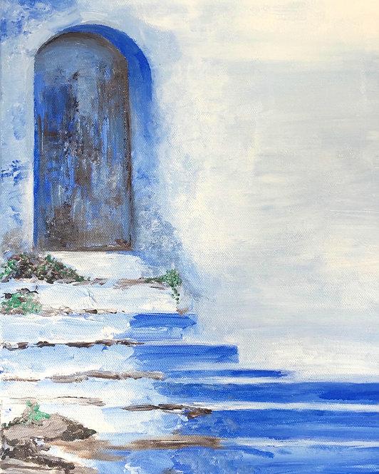 Blue Door Giclee Print
