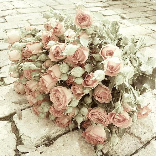 Flower Wall Decor • Sweetheart Roses