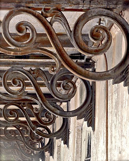 architectural old corbels from Savannah