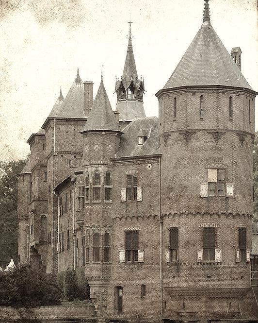 Architectural Wall Art • Dutch Castle