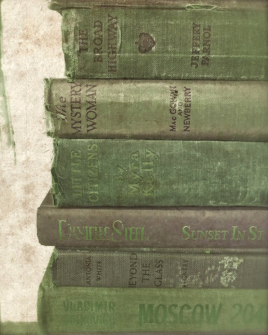 Book, Library & Office Wall Decor • Green Gems