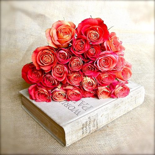 Flower Wall Decor • Rose Splendor