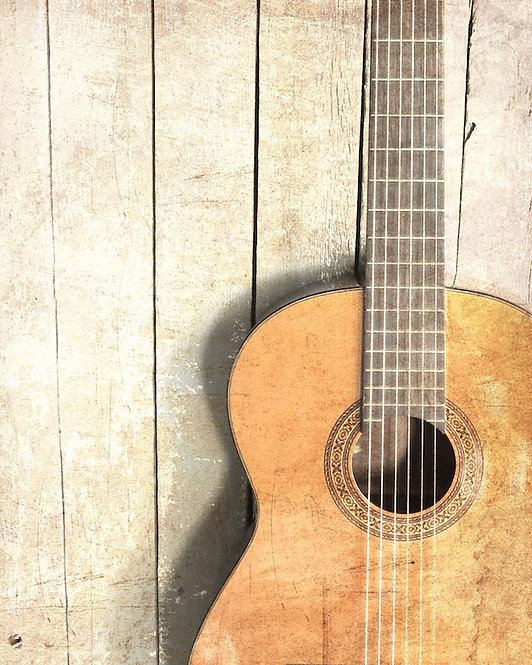 Farmhouse Wall Decor • Guitar One