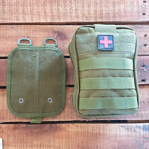 Gun / Stab Wound Kit in Medical Molle Pouch