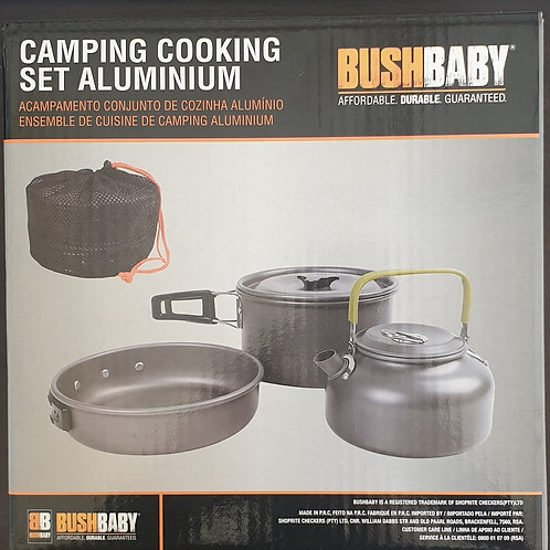 Camping Cooking Set Aluminium