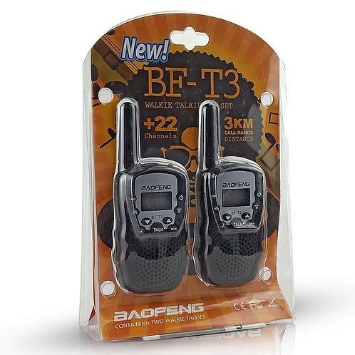 Baofeng BF-T3 Walkie Talkie Set