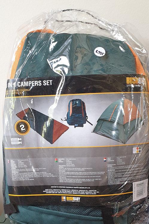 Bag, Tent & Sleeping Bag Combo