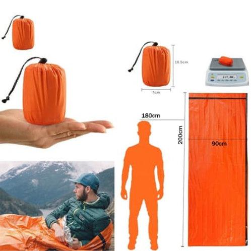 Waterproof Lightweight Thermal Emergency Sleeping Bag Bivy Sack