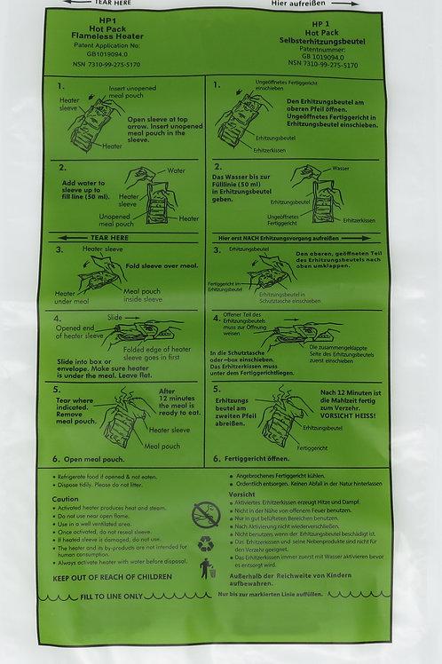 Flameless Ration Heater Kit