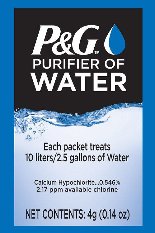P&G Purifier of Water Sachets Pack of 10