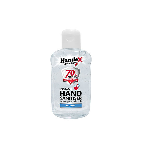 Handex Hand Sanitiser 75ml - 70% Alcohol