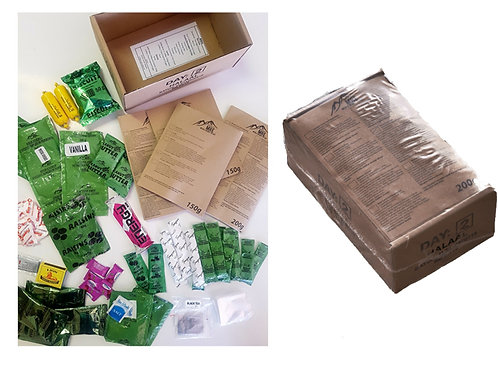 SANDF 24 Hour MRE Pack Day 8
