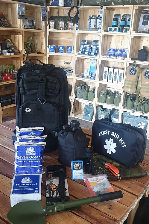 72 Hour 1 Person BugOut Bag